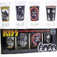 KISS, Glass Mug Set, Collector's Series