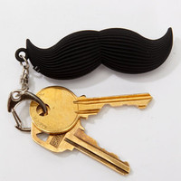 Talking Keyring Mustache | Mustache Keychain | fredflare.com