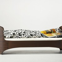 Leander Junior Bed - Chocolate by Natart, Beds, Furniture for Children
