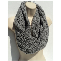 Block Party Infinity Scarf Free Crochet Pattern!
