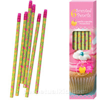 VANILLA CUPCAKE SCENTED PENCILS