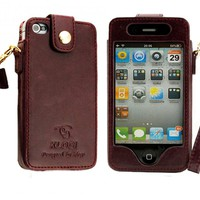 Iphone Leather Case (good Quality) on Luulla