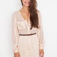 Blushing Shirtdress in Clothes at Nasty Gal