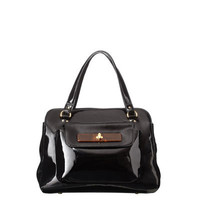Orla Kiely - Patent Turnlock Ella Bag
