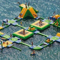 Inflatable Water Park Course- FOLLOW ME AND ENJOY&lt;3