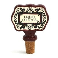 Liquid Courage - Wine Bottle Stopper