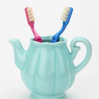 UrbanOutfitters.com &gt; Teapot Toothbrush Holder