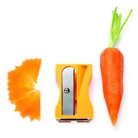 Vegetable Sharpener and Peeler Karoto yellow | Monkey Business Shop