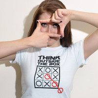 Think Outside The Box T-Shirt | SnorgTees