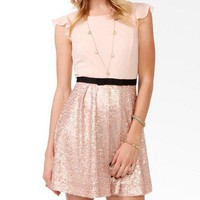 Sequined Bow Trimmed Dress | FOREVER 21 - 2025101544