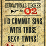 Wizard Decree: I&#x27;d Commit Sins with Those Sexy Twins Poster