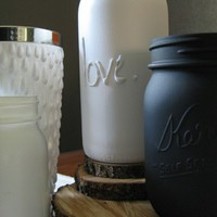 DIY Bottle Craft Project | Hot Glue + Bottle + Spray Paint = Unique gift/home decor