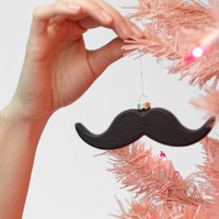 Accoutrements Mustache Ornament | Shop Holiday Decorations Now | fredflare.com