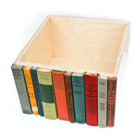 The Original Modern Library Storage Bin, Stylish Storage for your much-loved clutter