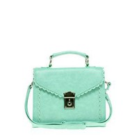 ASOS | ASOS Scallop Edge Satchel at ASOS