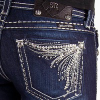 Miss Me Glitz Straight Stretch Jean - Women's Jeans | Buckle