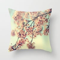 come away with me Throw Pillow by Sylvia Cook Photography | Society6