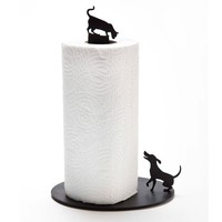 Dog Vs. Cat Paper Towel Holder