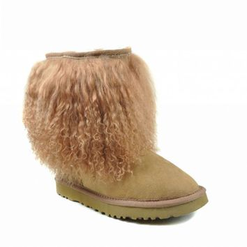 UGG 1875 Sheepskin Cuff Boots I Chestnut Outlet UK