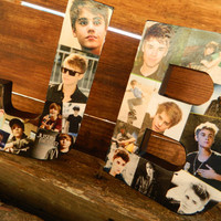 JB is for JUSTIN BIEBER 8in Color Collage by PieceofSunshine