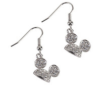 Disney Mickey Mouse Ear Hat Earrings by Arribas | Disney Store