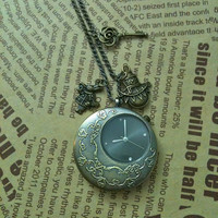 Alice in wonderland  pocket Watch Necklace by Victorianstudio
