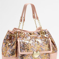 Betsey Johnson Multi Sequin Tote | Nordstrom