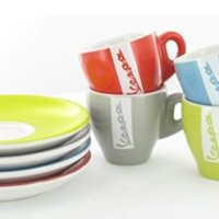 Retro To Go: Vespa Espresso Cup Set