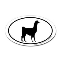 Llama Euro Decal by alicealpaca- 140772711