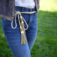 DIY Gucci Tassel Belt – Honestly WTF