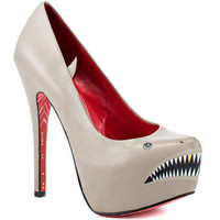 TaylorSays: Sharkie Heels Gray, at 26% off!
