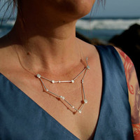 $157.99 Capricorn Zodiac Constellation Sterling Silver by jesikajack