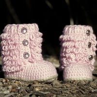 Crochet Pattern Little Diva Boot TODDLER CHILDRENS sizes 4 - 9  - All Six sizes included - Pattern number 201