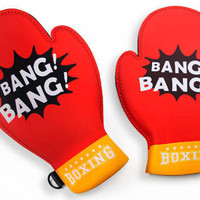 The Spoon Sisters Boxing Gloves Oven Mitts