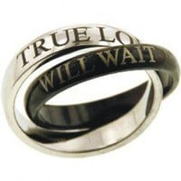 True Love Will Wait Promise Rings- FOLLOW ME AND ENJOY<3