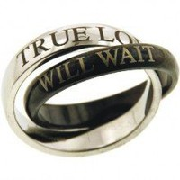 True Love Will Wait Promise Rings- FOLLOW ME AND ENJOY&lt;3