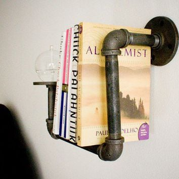 1 Sconce Bookshelf with Oil Candle. home and garden, furniture, bookshelf