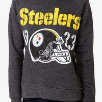 Pittsburg Steelers Logo Pullover | FOREVER 21 - 2022940758