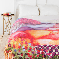 Urban Outfitters - Plum &amp; Bow Painted Hills Duvet Cover