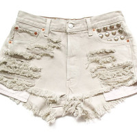 Levi high waist shorts M