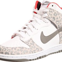 WMNS NIKE DUNK HIGH SKINNY WHITE/SUNBURST//MEDIUM GREY 429984-102