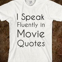 Movie Quotes Tee - rockgoddesstees
