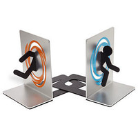 ThinkGeek :: Portal Bookends