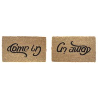 COME IN, GO AWAY DOORMAT | Doormat, Come In, Go Away, Humor | UncommonGoods - StumbleUpon