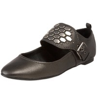 Miss Robertson Women's Kitra Mary Jane Flat