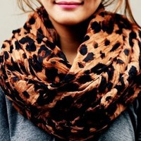 Leopard Cheetah Large Scarf
