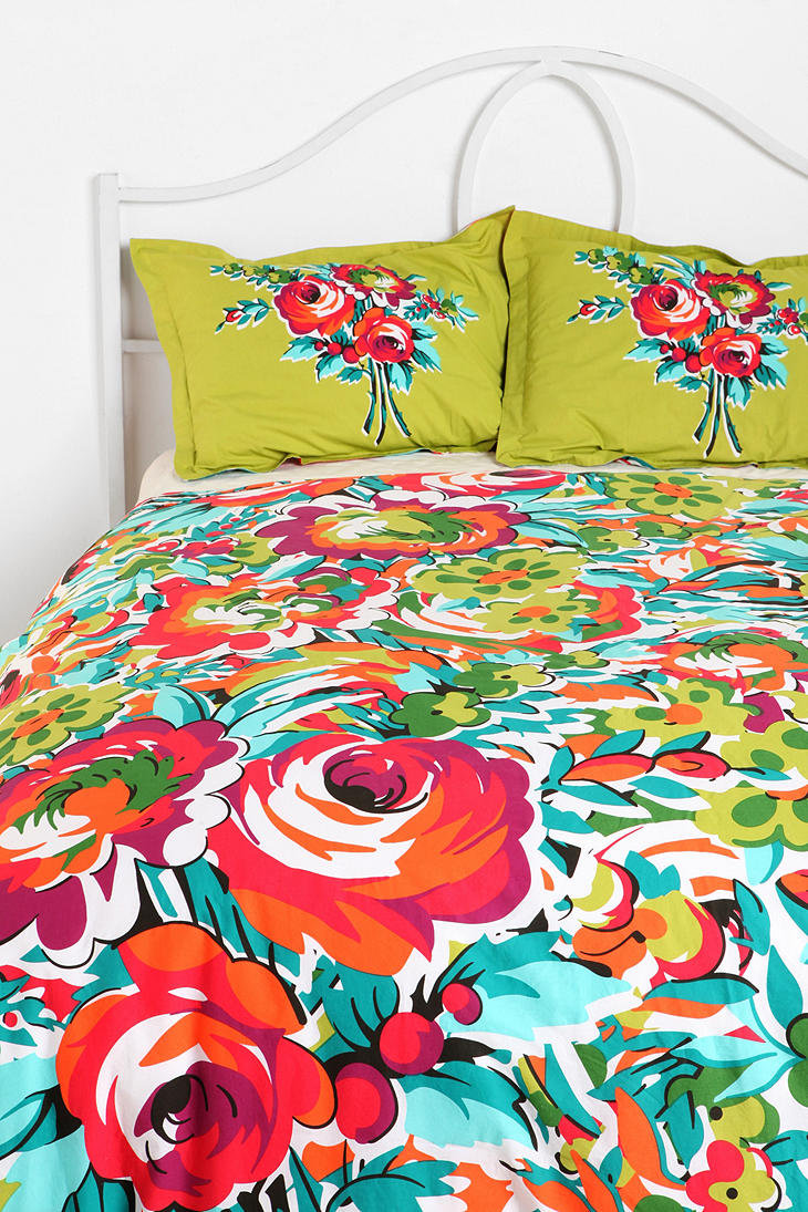 Urban Outfitters Bouquet Duvet Cover From Urban Outfitters