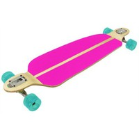 Amazon.com: Racing Longboard DOUBLE DROP PINK 70mm Wheels, 180mm Trucks, Abec 7 Bearings: Sports & Outdoors