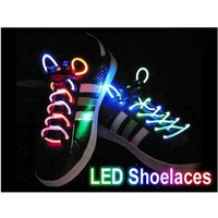 Amazon.com: SODIAL- Led Light Up Flashing Glowing Shoelaces - Multi-Color LED Shoe Laces flash Lighting the Night For party Hip-hop Dancing: Toys & Games