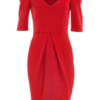 Red ponte dress - Day Dresses - Dresses - Dorothy Perkins